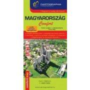 Magyarország Comfort 1:520e. térkép (laminált)