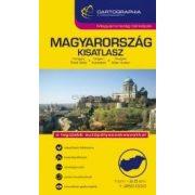 """Magyarország autóatlasz 1:250e. """"kicsi"""" (kesztyűtartó méret)"""