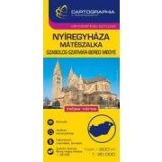 Nyíregyháza, Mátészalka várostérkép (+Szabolcs-Szatmár-Bereg megye tkp.)