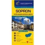 Sopron várostérkép (+Győr-Moson-Sopron megye tkp.)