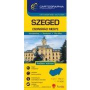 Szeged várostérkép (+Csongrád megye tkp.)