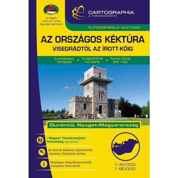 Az Országos Kéktúra II. (Dunántúl) turistakalauz