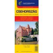 Csehország autótérkép