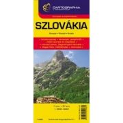 Szlovákia autótérkép