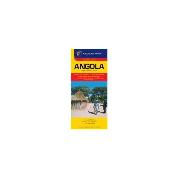 Angola térkép