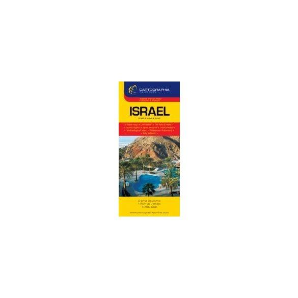 Izrael térkép