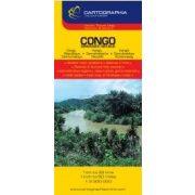 Kongói Demokratikus Köztársaság térkép