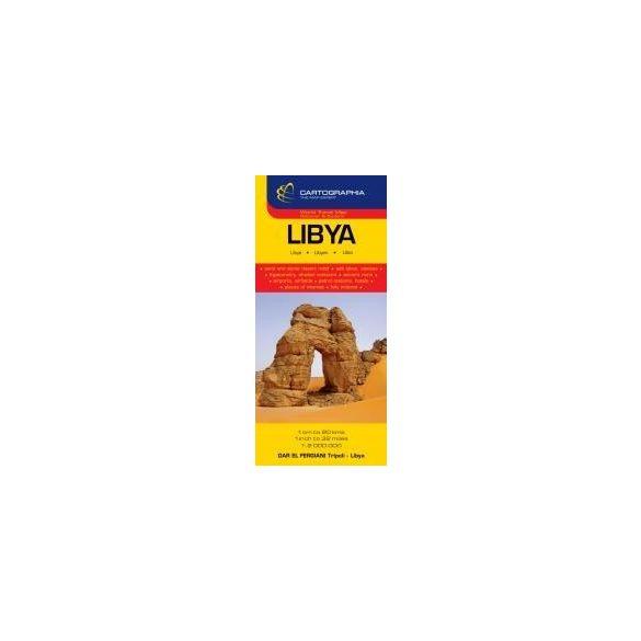 Líbia térkép