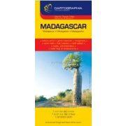 Madagaszkár térkép