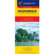 Mozambik térkép