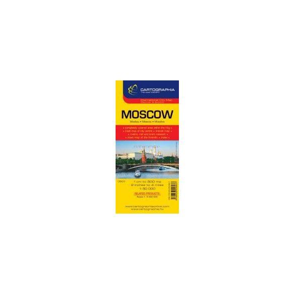Moszkva várostérkép