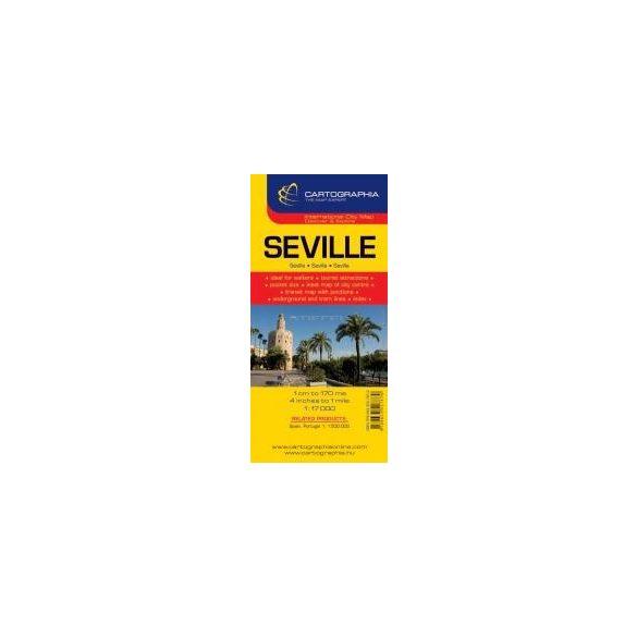 Sevilla várostérkép