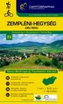 Zempléni-hegység (déli rész) turistatérkép
