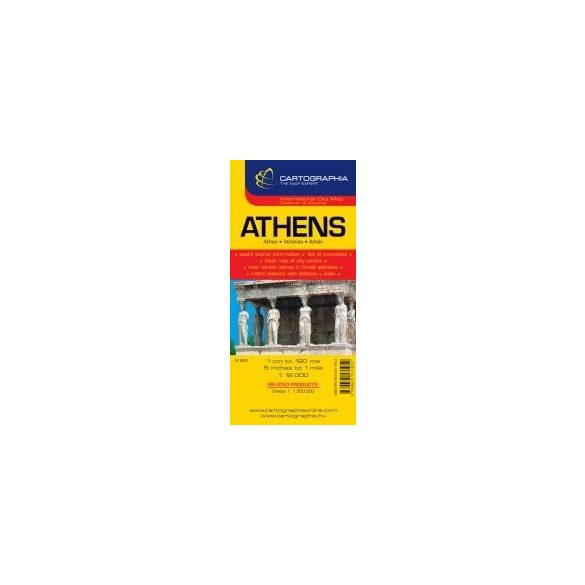 Athén várostérkép