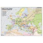 Európa a XI-XIII. században. A keresztes hadjáratok. Fóliázott, lécezett