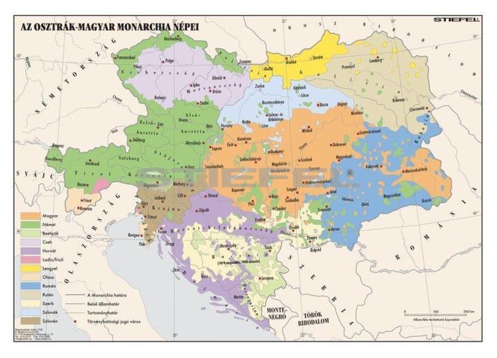Az Osztrak Magyar Monarchia Nepei