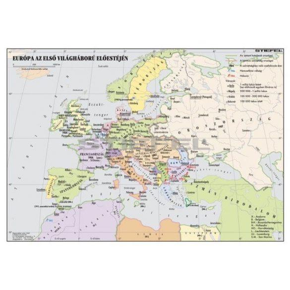 Európa az I. világháború előestéjén