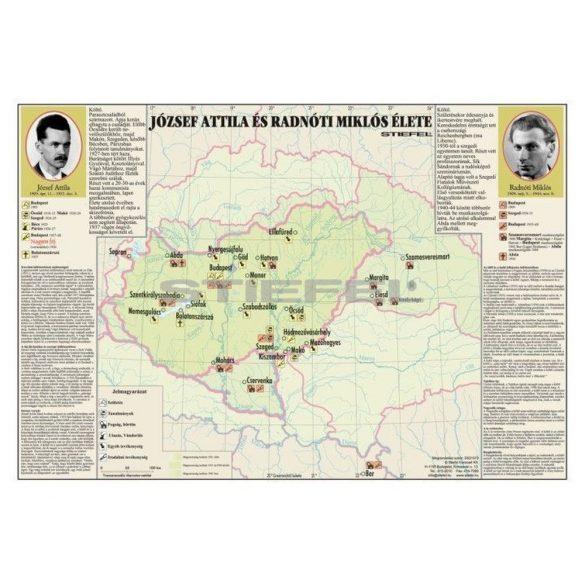 József Attila és Radnóti Miklós élete