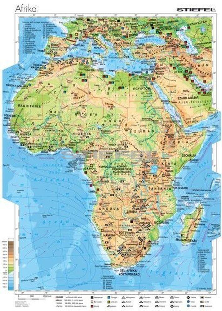 afrika domborzati térkép Afrika gazdasága afrika domborzati térkép