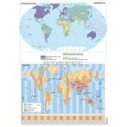A Föld egyedi tematikus térképei (2 db / lap)