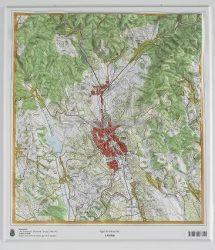 Eger dombortérképe