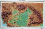 Kárpát-medence dombortérképe