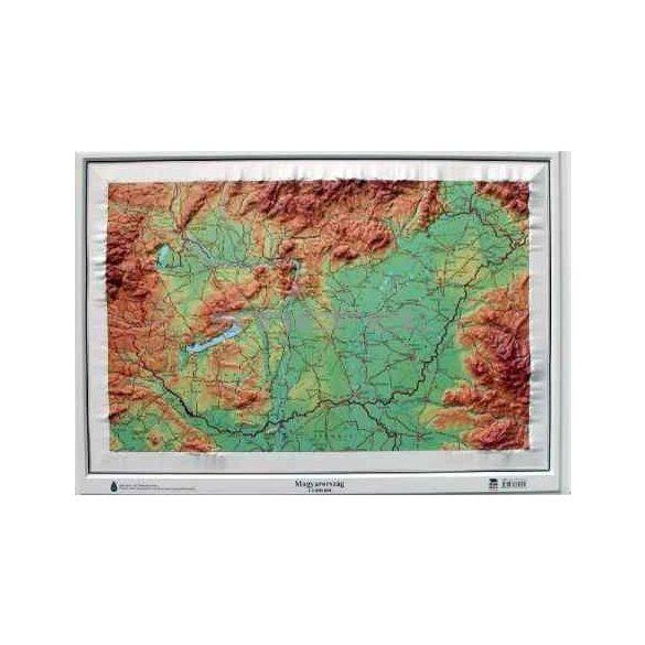 Magyarország dombortérképe
