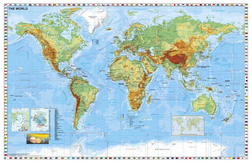 A Fold Orszagai Terkep Kozep Europa Autoterkep Konyoklo