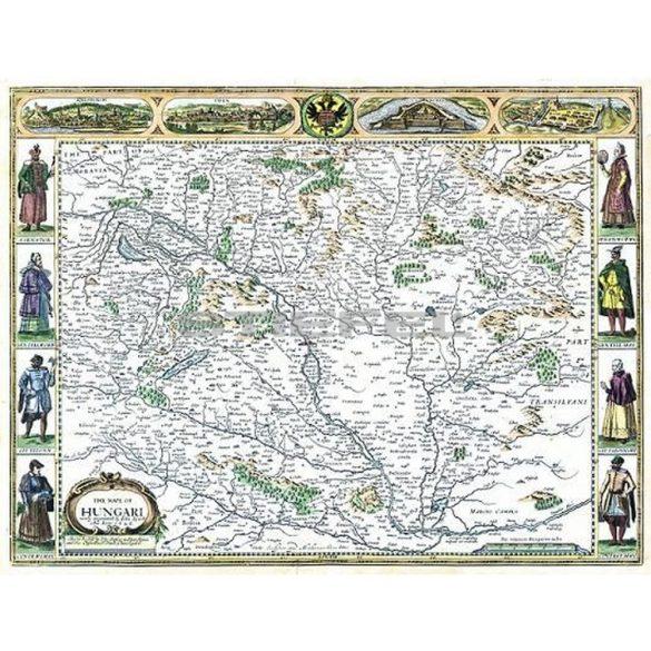 The Mape of Hungari (1626)