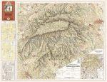 Bükk hegység térképe (1933)