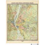 Budapest székes-főváros és környékének térképe (1906)
