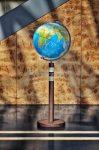 TWIN BLUE földgömb - 40 cm átmérőjű, világító