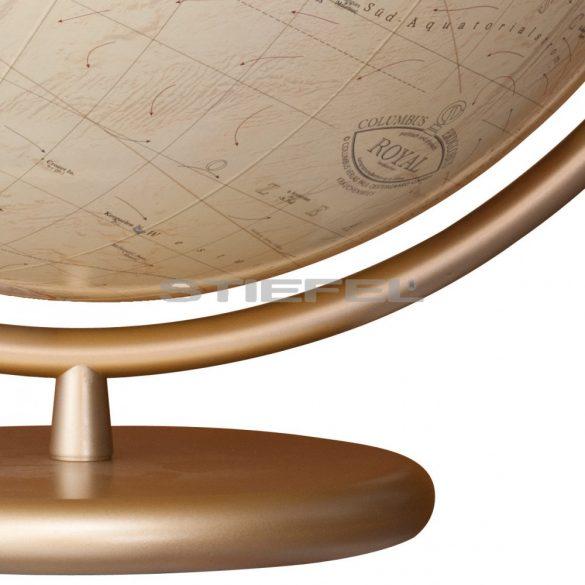COLUMBUS ROYAL világítós asztali, kristály földgömb Ø 40  cm