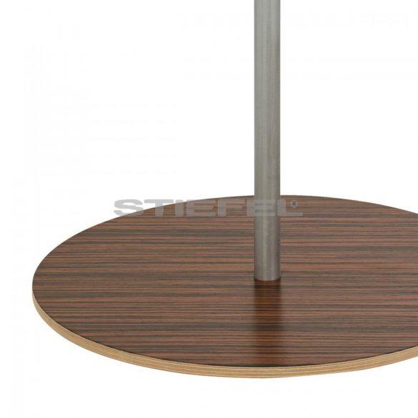 COLUMBUS DUO AZZURRO világítós, álló, akril földgömb Ø 40  cm