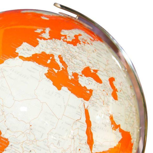 Artline Orange Swarovski  földgömb Ø 34