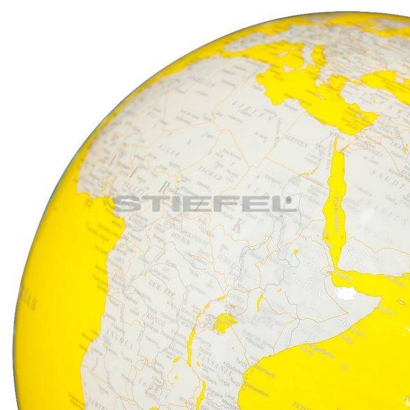 Artline Yellow Swarovski földgömb Ø 34
