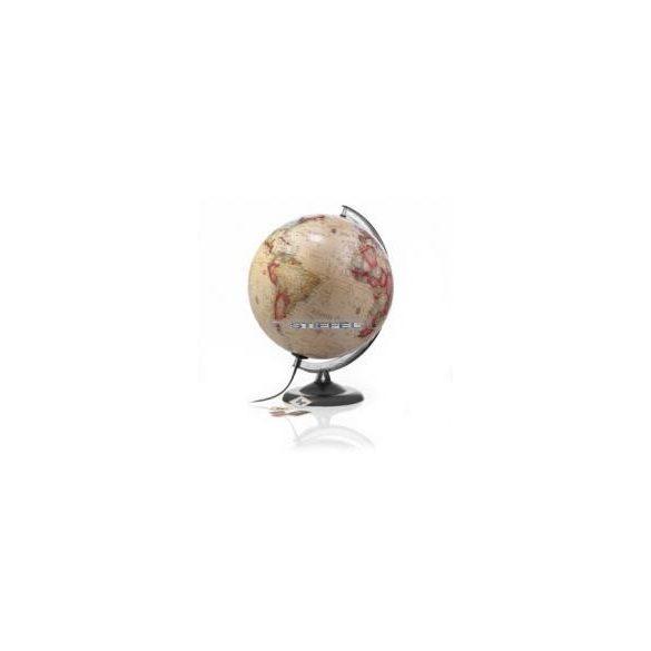Földgömb antik műanyag talp és meridián Ø 30  cm