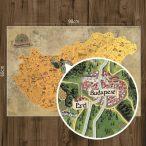 Kaparós Magyarország térkép DELUXE