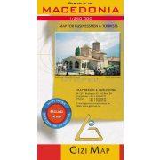 Macedónia autótérképe