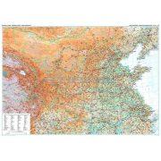Kína középső része (2) térkép