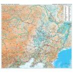 Kína észak-keleti része (3) térkép