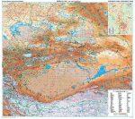 Kína észak-nyugati része (4) térkép - Új kiadás