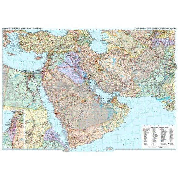 Közel-Kelet (politikai térkép)