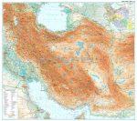 Irán térkép - Új kiadás