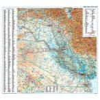Irak térkép - Új kiadás