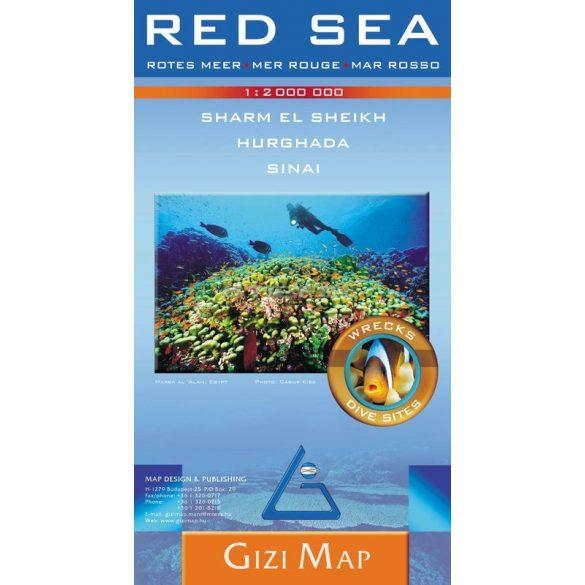 Vörös-tenger térképe