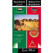 Szudán és Dél-Szudán térkép