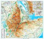 Etiópia térkép - Új kiadás