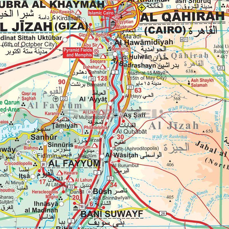 egyiptom térkép Egyiptom térkép egyiptom térkép