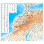 Marokkó térkép